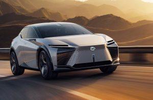 لکسوس از جدیدترین خودرو الکتریکی خود رونمایی کرد